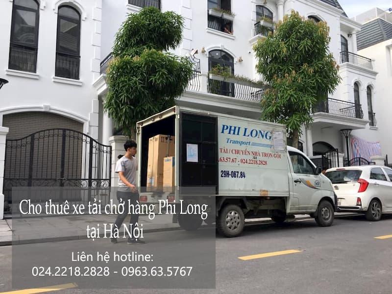 Phi Long taxi tải tại phố Dương Xá