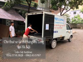 Dịch vụ taxi tải Phi Long tại phố Phương Liệt