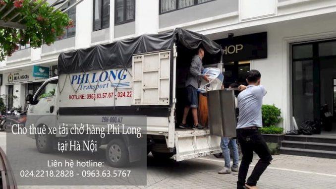 Taxi tải Phi Long tại phố Đặng Thùy Trâm