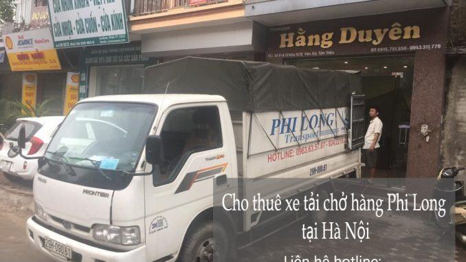 Dịch vụ taxi tải Phi Long tại phố Ngọa Long