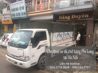 Taxi tải Phi Long tại phố Cầu Bươu