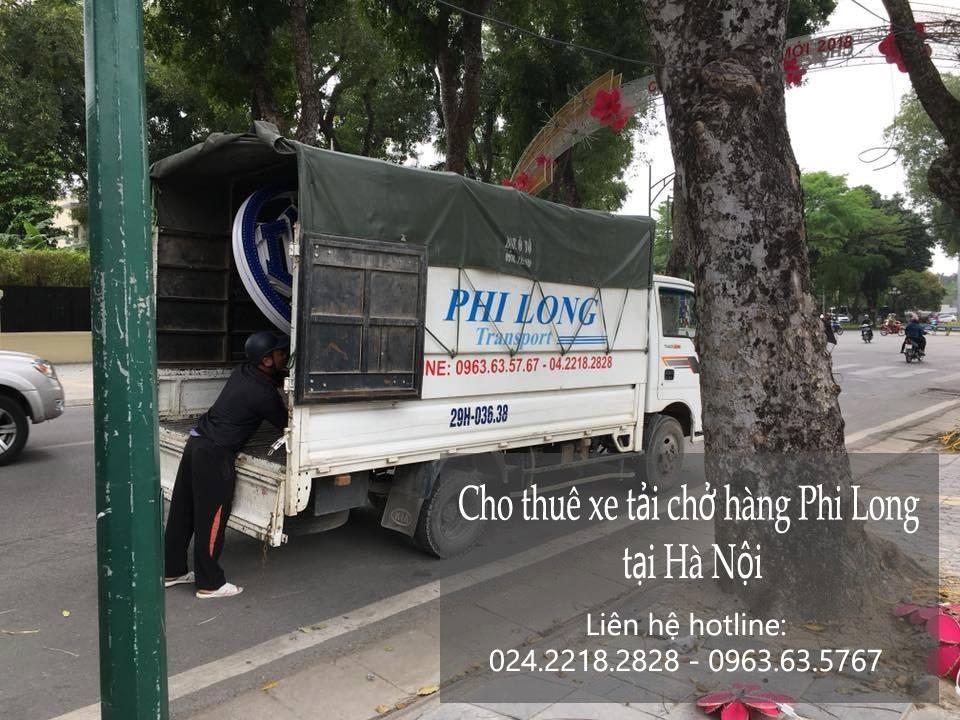 Dịch vụ taxi tải Phi Long tại phố Nguyễn Ngọc Nại