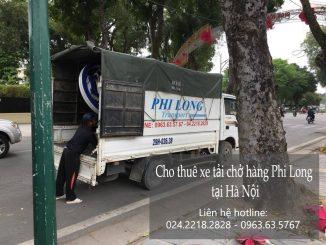Dịch vụ taxi tải Phi Long tại phố Quan Nhân