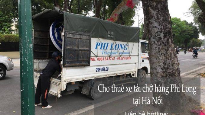 Dịch vụ taxi tải Phi Long tại phố Nguyễn Hoàng Tôn