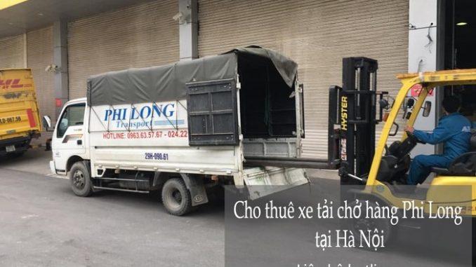 Dịch vụ taxi tải Phi Long tại phố Phú Diễn