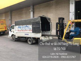 Dịch vụ taxi tải Phi Long tại phố Tân Nhuệ 2019