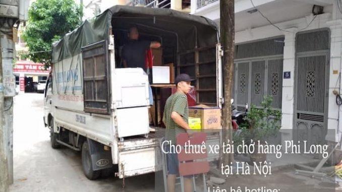 Phi Long cho thuê taxi tải tại phố Trúc Khê