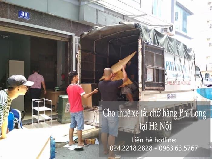 Dịch vụ taxi tải tại phố Dương Văn Bé