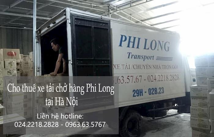 xe tải Phi Long tại phố Lạc Trị