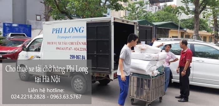 Phi Long taxi tải giá rẻ tại phố Thịnh Liệt