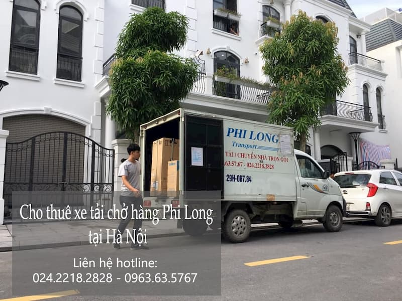 Dịch vụ taxi tải giá rẻ Phi Long tại xã Thụy Lâm