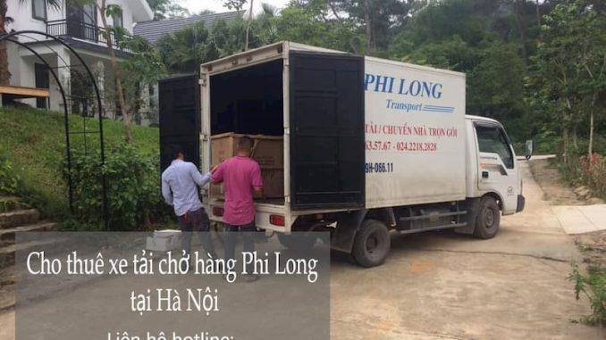 Xe tải chuyên nghiệp Phi Long tại phố Vân Trì