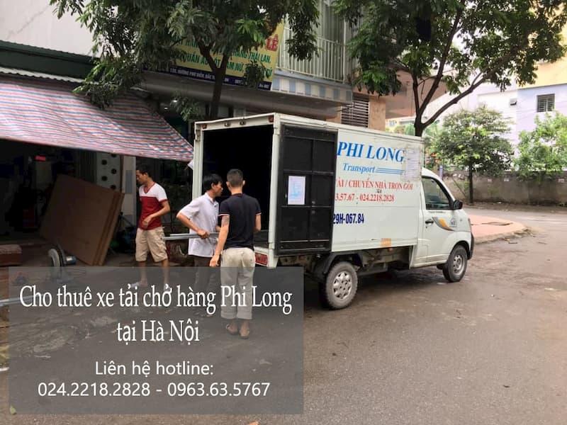 Taxi tải chuyên nghiệp Phi Long tại phố Núi Đôi