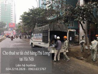 Phi Long cho thuê xe tải tại phố Hoàng Sa