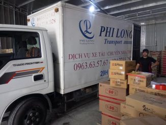 hãng xe tải vận chuyển tại phường Trúc Bạch