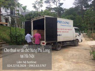 Phi Long taxi tải chuyên nghiệp tại phố Hoàng Diệu