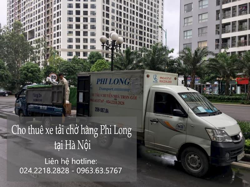 Phi Long taxi tải trọn gói tại phố Khúc Hạo