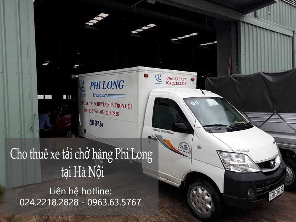 Taxi tải Hà Nội của phi Long tại phường Cổ Nhuế 1