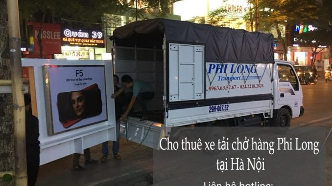 Dịch vụ chở hàng thuê tại phường Văn Chương
