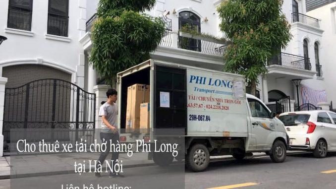 Taxi tải trọn gói chất lượng Phi Long tại phố Cổ Tân