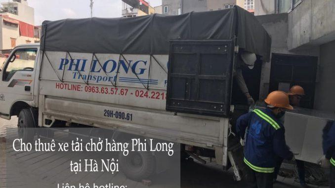 Taxi tải Phi Long trọn gói tại phố Nguyễn Cao