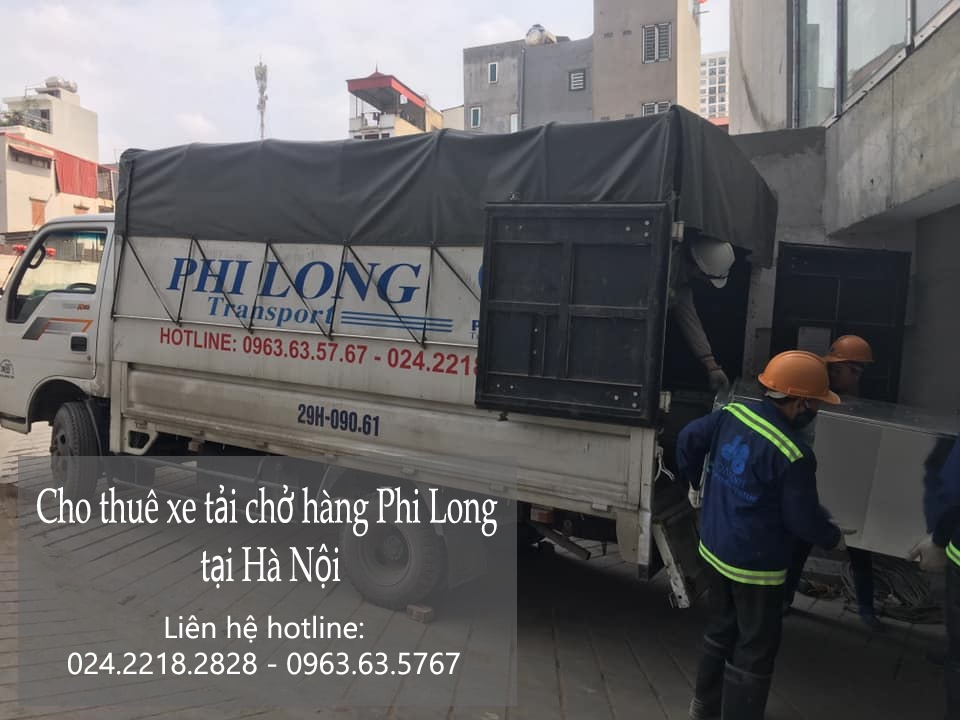 Dịch vụ taxi tải chất lượng Phi Long tại phố Cầu Đông