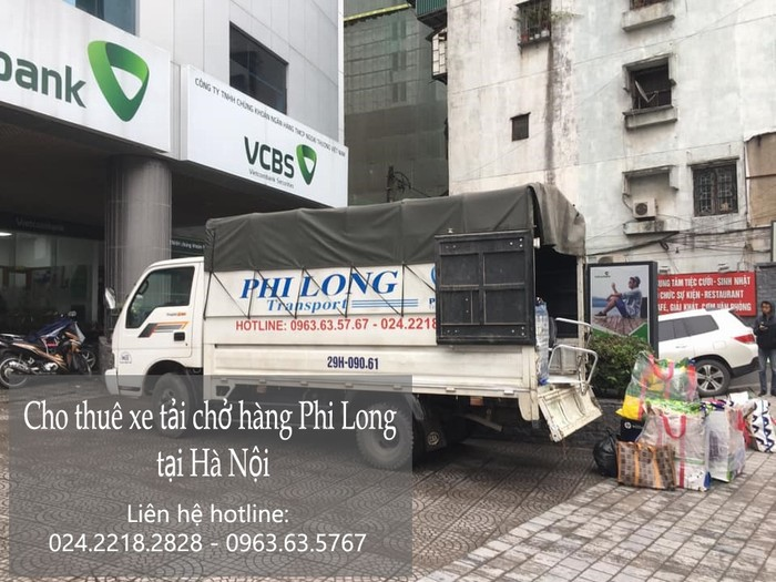 Chuyển hàng hóa chất lượng Phi Long tại phố Thịnh Yên