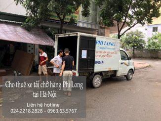 Xe tải vận chuyển Phi Long tại thị trấn Trâu Quỳ
