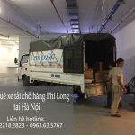 Hãng taxi tải giá rẻ Phi Long tại phố Đoàn Thị Điểm