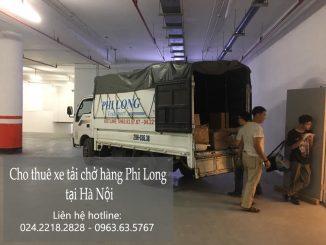 Hãng taxi tải trọn gói Phi Long tại phố Minh Khai