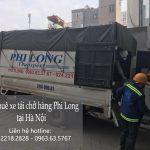 Dịch vụ giá rẻ taxi tải Phi Long tại phố Đông Các