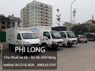 Phi Long cho thuê xe tải chở đào, quất