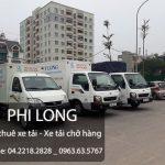 Dịch vụ thuê xe tải Phi Long tại phường Xuân Đỉnh