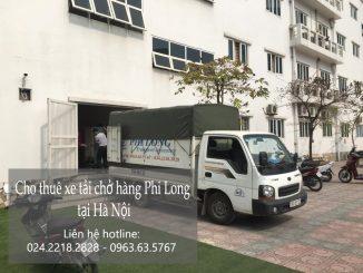 Giảm giá 20% taxi tải chở hàng Phi Long đường Bưởi