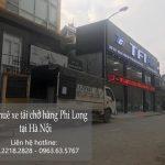 Xe tải chở hàng tết Phi Long phố Hoàng Đạo Thúy