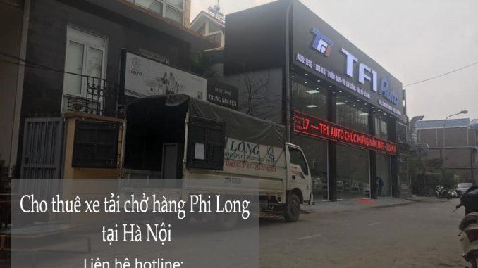 Công ty taxi tải Phi Long chở hàng tết phố Khuất Duy Tiến