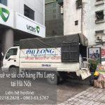 Phi Long chuyên chở hàng tại xã Phùng Xá