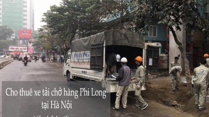 Taxi tải chở hàng Phi Long tại xã Viên Nội