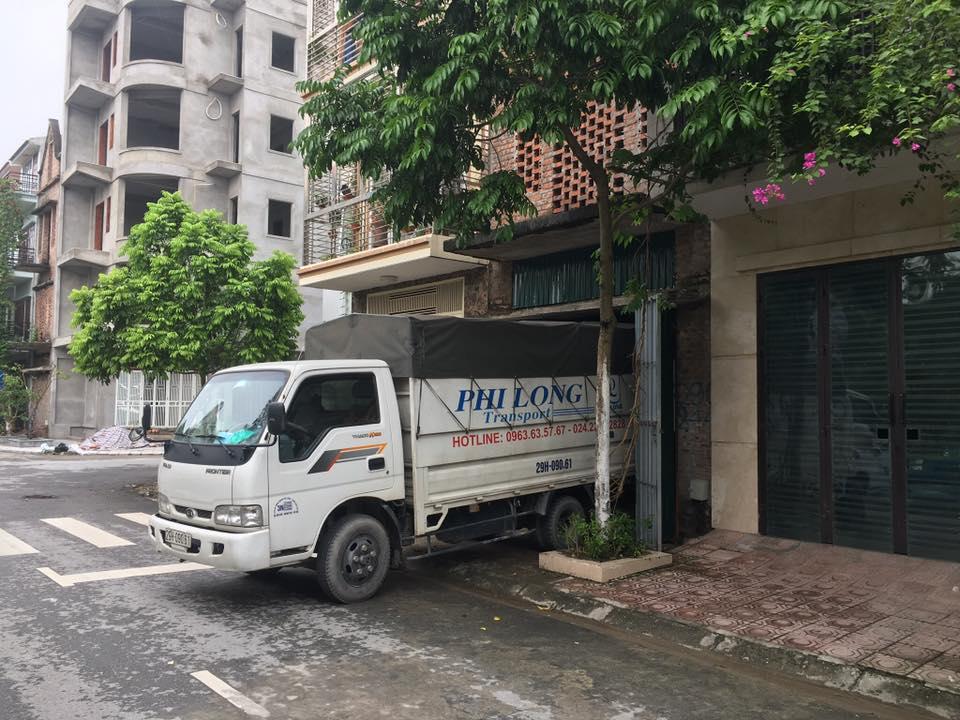 Công ty Phi Long vận chuyển hàng hóa tại xã Kim Chung