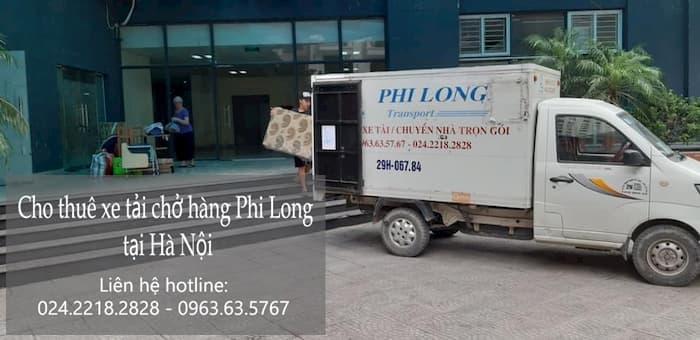 Xe tải Phi Long vận chuyển hàng hóa tại xã Đông La