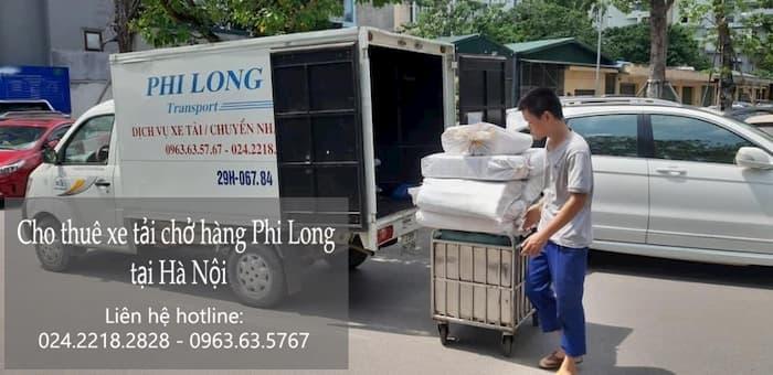Xe vận tải Phi Long tại xã Dương Liễu
