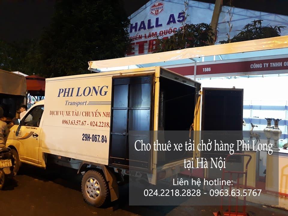 Taxi tải chất lượng Phi Long tại phố Đào Văn Tập