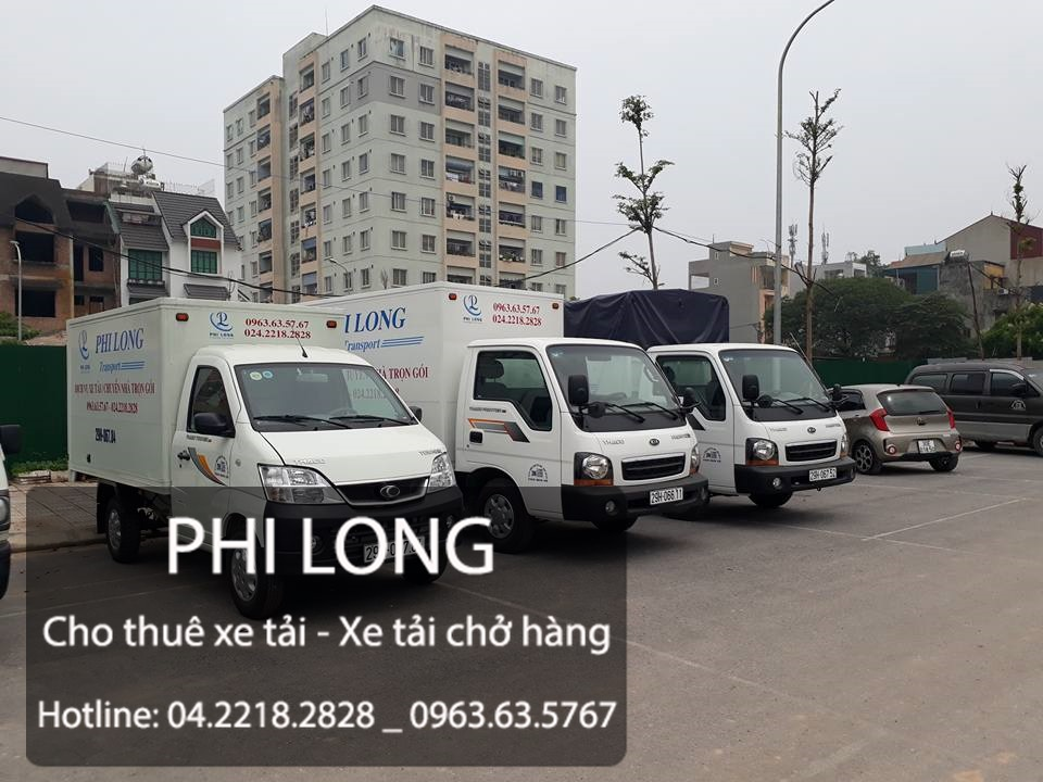 Xe tải chất lượng Phi Long tại phố Đoàn Khuê