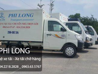 Dịch vụ taxi tải tại xã Văn Phú