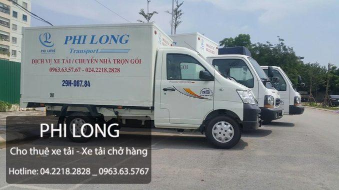 Dịch vụ taxi tải Phi Long tại đường Quang Trung
