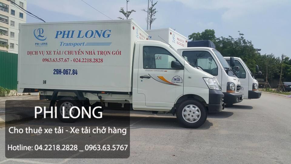 Dịch vụ taxi tải Phi Long tại đường Trường Chinh