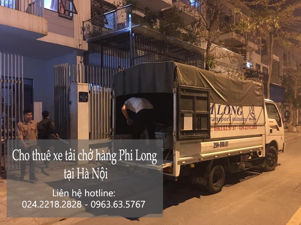 Dịch vụ xe tải chất lượng cao Phi Long phố Chùa Hà
