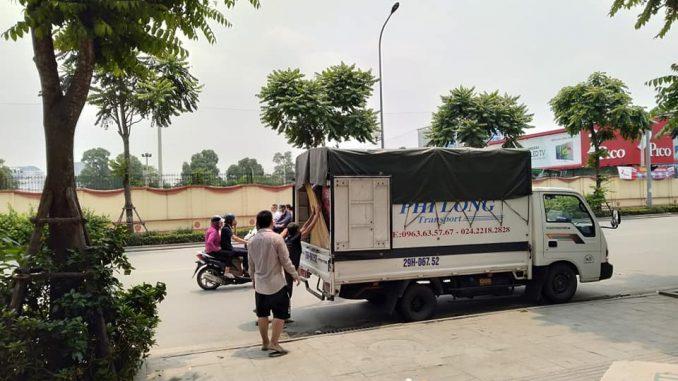 Phi Long taxi tải chất lượng phố Cầu Đất