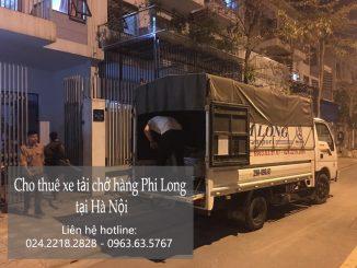 Dịch vụ taxi tải tại phố Trần Bình