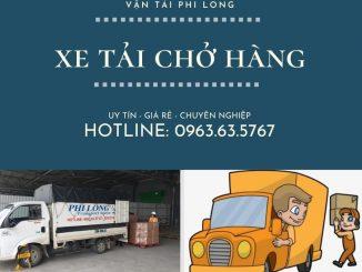 Cho thuê xe tải chở hàng nhanh
